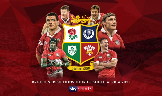 British & Irish Lions tour of South Africa live and exclusive on Sky Sports in 2021