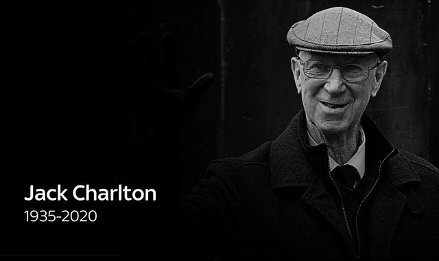 Jack Charlton: England and Leeds United legend dies aged 85