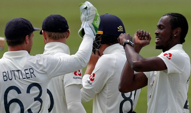 West Indies start poorly chasing 200 to beat England in first Test