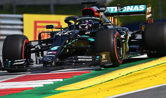 Lewis Hamilton 'quite far off' as rivals close in at Styrian GP