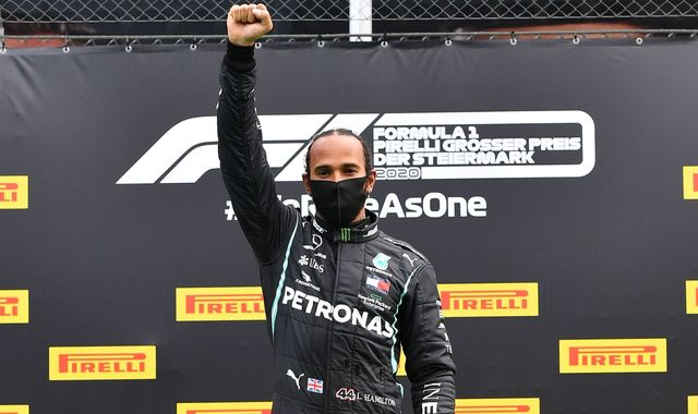 Styrian GP: Lewis Hamilton takes first F1 2020 win, Ferraris collide