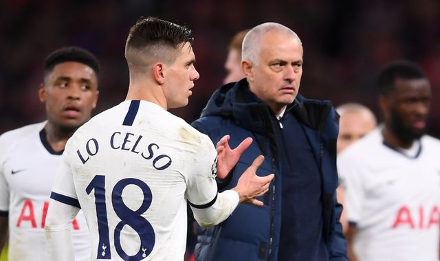 Tottenham boss Jose Mourinho says he 'wouldn't swap' Giovani Lo Celso for Bruno Fernandes