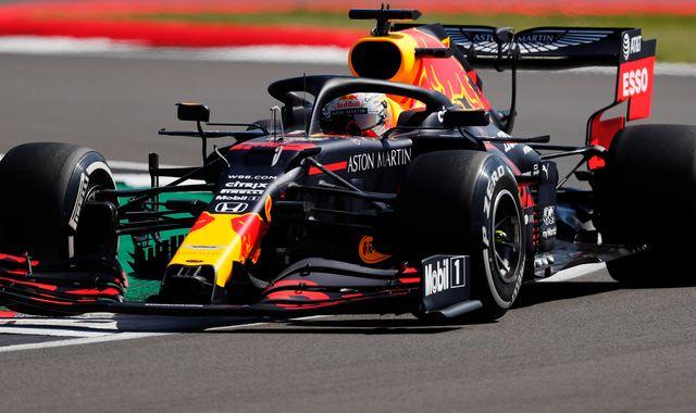 British GP, Practice One: Max Verstappen leads Lewis Hamilton, Nico Hulkenberg returns