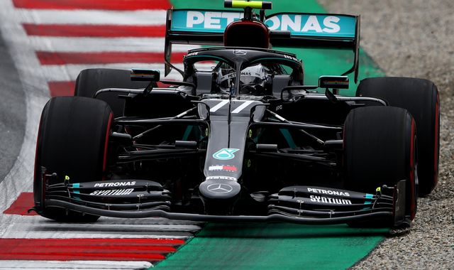 Austrian GP Qualifying: Valtteri Bottas pips Lewis Hamilton to pole