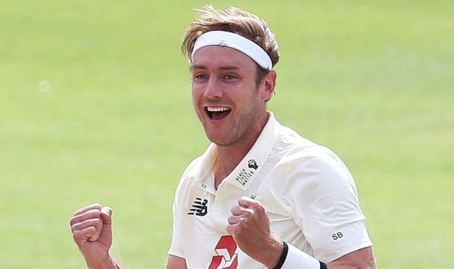 England's Stuart Broad takes 500th Test wicket, second Englishman after James Anderson to milestone