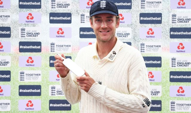 Stuart Broad 'fresh' and 'excited' after 'amazing' 500th England Test wicket in West Indies series win