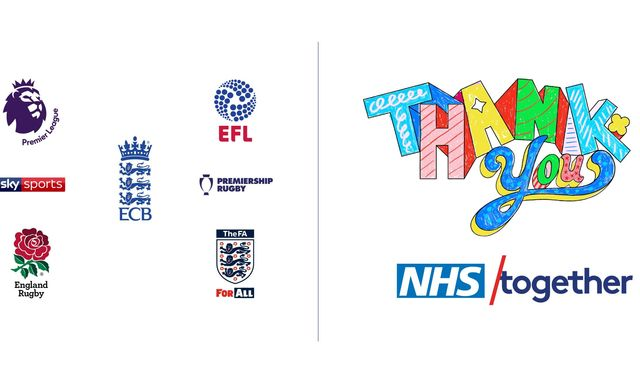 Sports come together to celebrate NHS and key workers