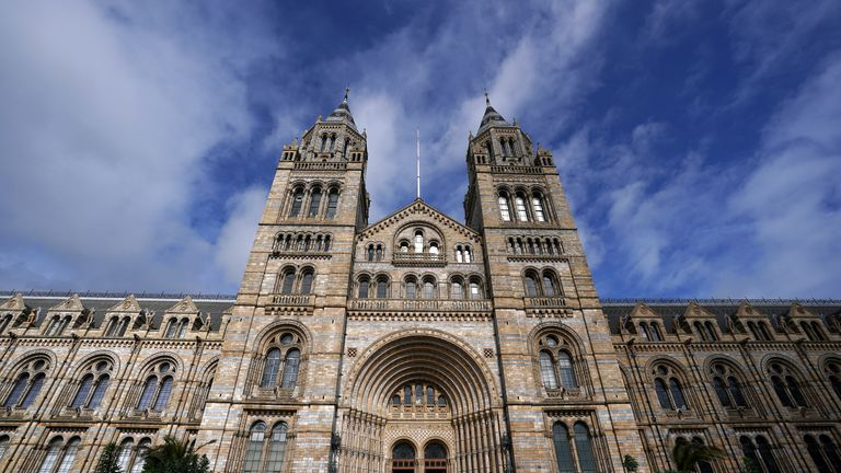 File photo dated 17/03/20 of Natural History Museum in London after it was announced that Dr Douglas Gurr will take over as the new director of the museum.