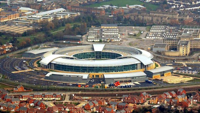 File photo dated 23/01/04 of the Government Communication Headquarters (GCHQ) as the Intelligence and Security Committee, which oversees the work of the intelligence agencies, said it was satisfied that reports produced by GCHQ based on information supplied by the US had conformed with its statutory duties.