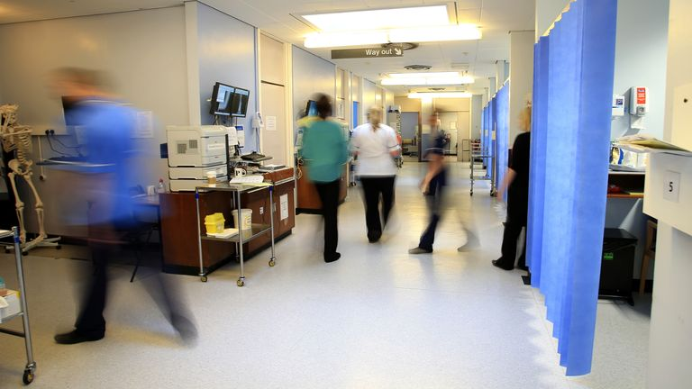 File photo dated 03/10/14 of a ward at the Royal Liverpool University Hospital, Liverpool. Working conditions for nurses and midwives pose a significant threat to their mental health, which could worsen due to the pandemic, a review has found. The Society of Occupational Medicine (SOM) reviewed the mental health and wellbeing of nurses and midwives in the UK before the Covid-19 crisis.