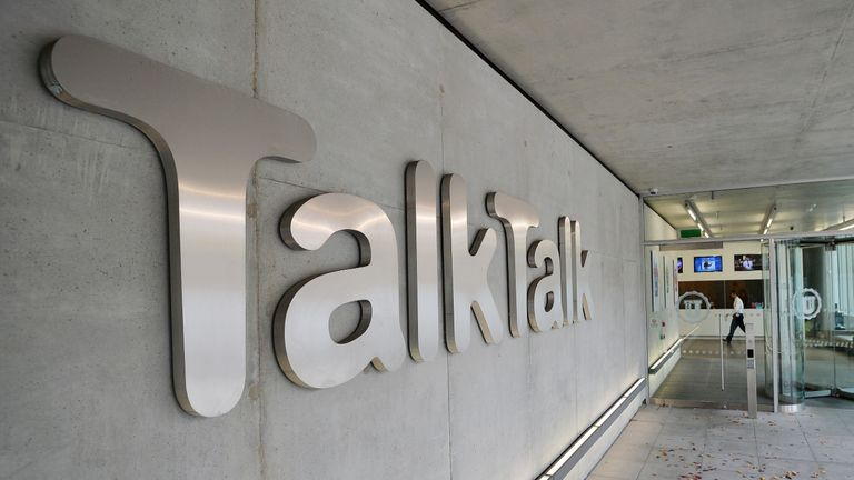 General view of TalkTalk offices in west London, as the telecoms giant has received a ransom demand from someone claiming to be behind a cyber attack which may have resulted in sensitive data belonging to millions of its customers being stolen, the company said.