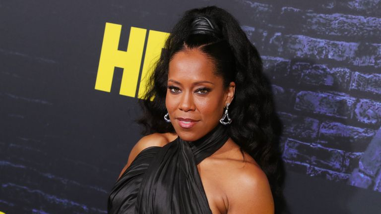 "LOS ANGELES, CALIFORNIA - OCTOBER 14: Regina King attends the Premiere Of HBO's ""Watchmen"" at The Cinerama Dome on October 14, 2019 in Los Angeles, California. (Photo by Leon Bennett/WireImage)"