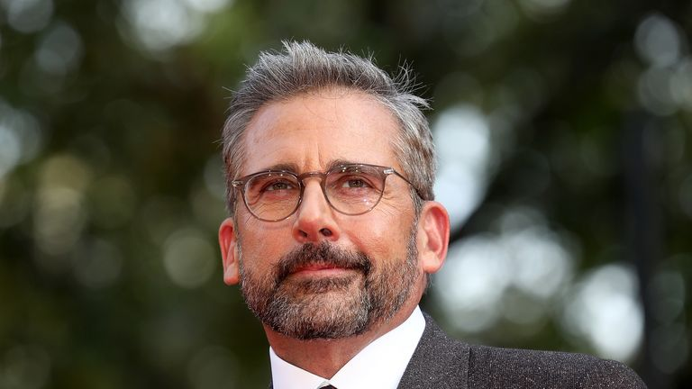 "LONDON, ENGLAND - OCTOBER 13:  Steve Carell attends the UK Premiere of ""Beautiful Boy"" & Headline gala during the 62nd BFI London Film Festival on October 13, 2018 in London, England.  (Photo by Tim P. Whitby/Tim P. Whitby/Getty Images for BFI)"