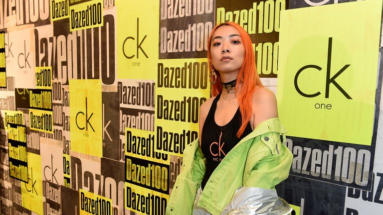 LONDON, ENGLAND - APRIL 06:  Rina Sawayama attends as Dazed + ck one celebrate the launch of The Dazed100 on April 6, 2017 in London, England.  (Photo by David M. Benett/Getty Images for Calvin Klein, Inc.)
