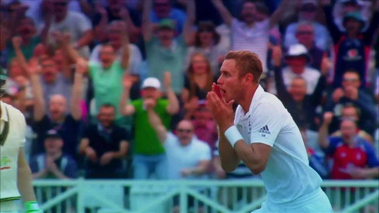 We look through some of Stuart Broad's best moments in his journey to reach 500 Test wickets.