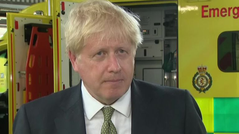 Boris Johnson refuses to say whether wearing masks in shops will be compulsory
