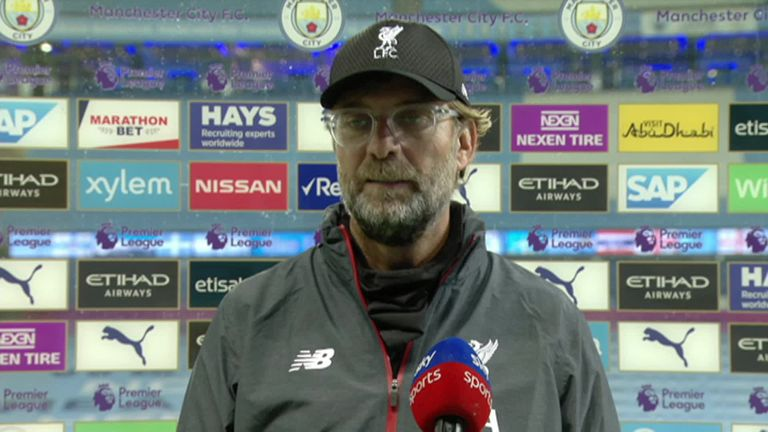 Jurgen Klopp insists his team's attitude was not the reason for Liverpool's 4-0 defeat to Manchester City.