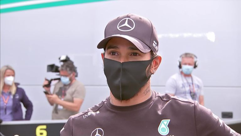Lewis Hamilton says he's 'over the moon' after taking his first victory of the season in dominant fashion in the Styrian Grand Prix