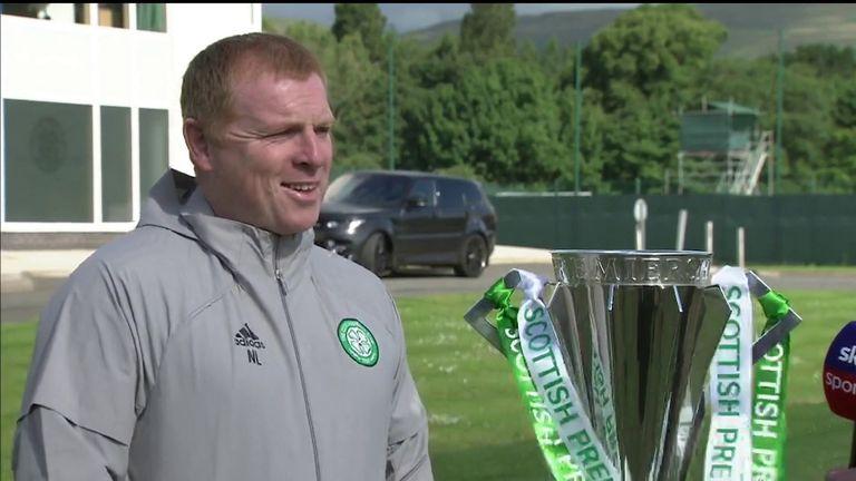 Celtic boss Neil Lennon looks ahead to the new season - live on Sky Sports