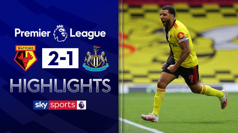 FREE TO WATCH: Highlights from Watford's win against Newcastle