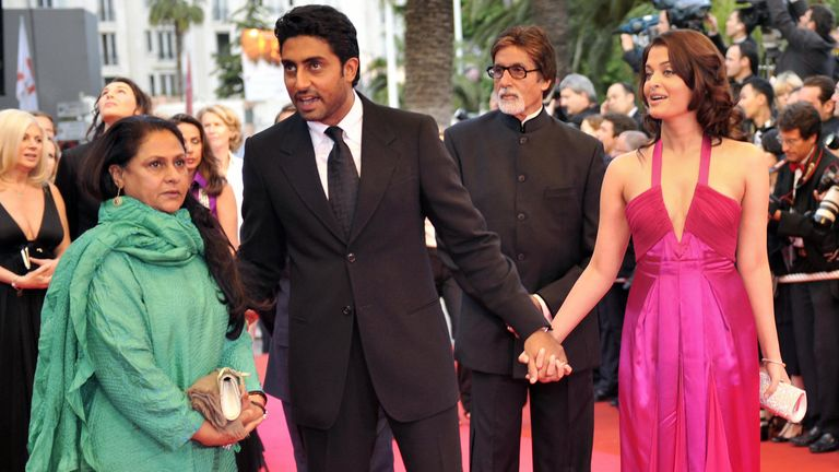 A family affair - the Bachchan family on the red carpet