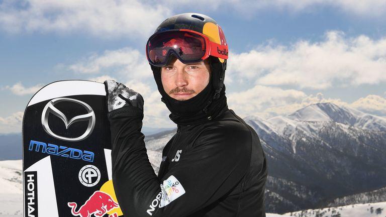 Australian snowboard cross Winter Olympic athlete Alex Pullin, seen in 2017, has died