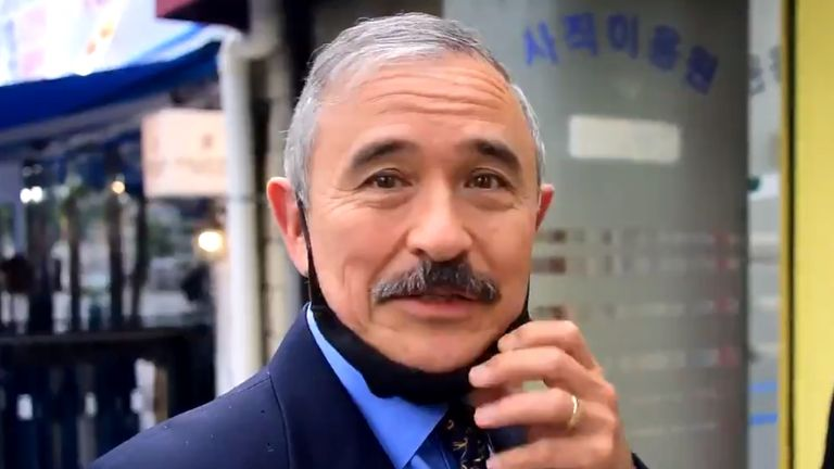 US ambassador to South Korea Harry Harris has shaved off his controversial moustache