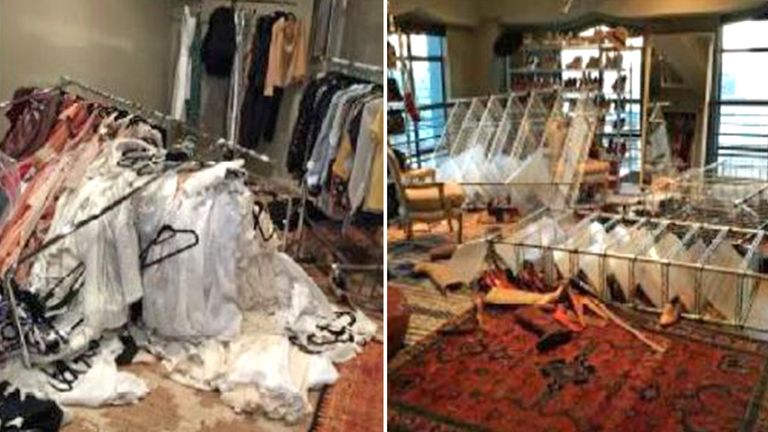 Heard says Depp trashed her closet in March 2015