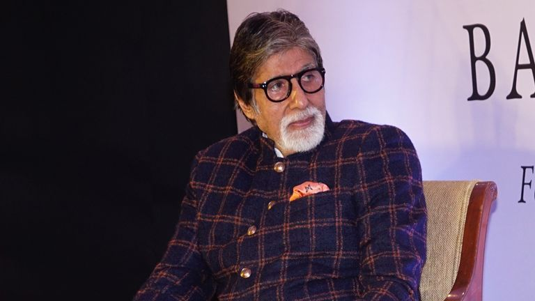 Actor Amitabh Bachchan, 77, said he is in hospital with coronavirus