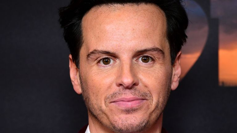 Andrew Scott has been taken to hospital for 'minor surgery'