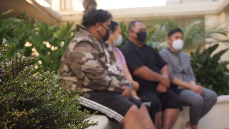 Coronavirus: 'They call us the COVID family' - Why shame is fuelling virus spike in one LA community