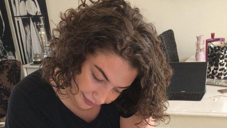Azra Kemal, 24, who died in Kent. Jason Farrell tribute piece. Twitter: @jasonfarrellsky