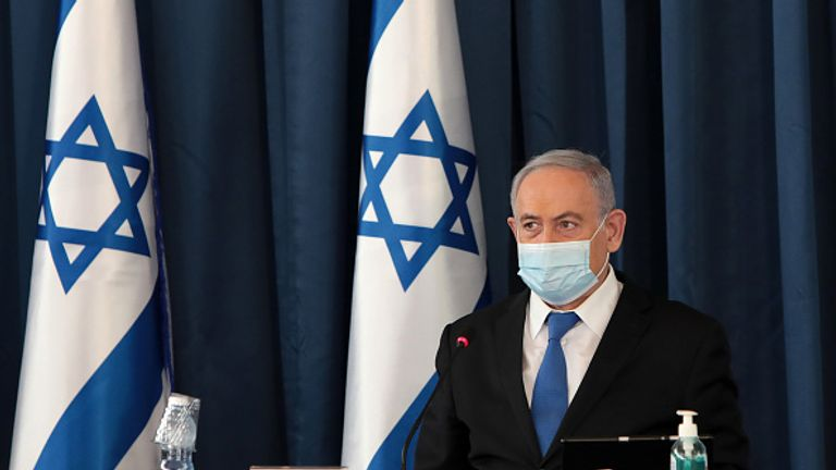 Benjamin Netanyahu warned that Israel was close to needing another blanket lockdown