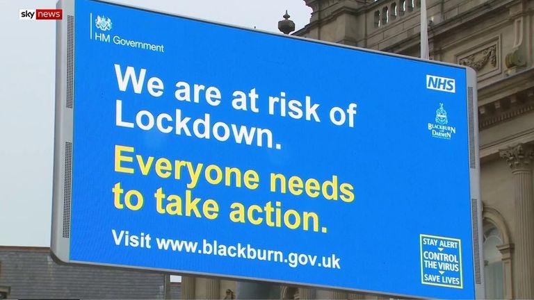 Lockdown in Blackburn
