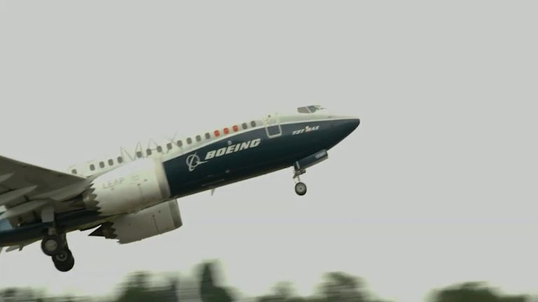 The aircraft was banned from flying in March 2019 after two fatal crashes.