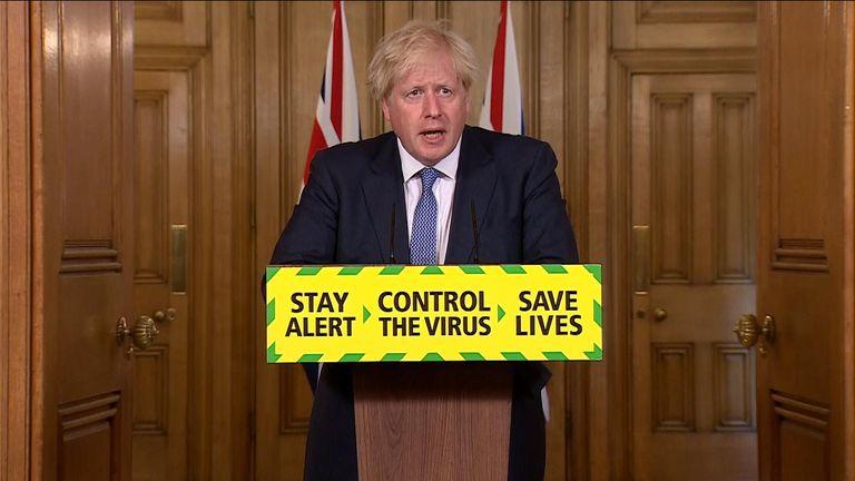 Boris holds news conference 31072020