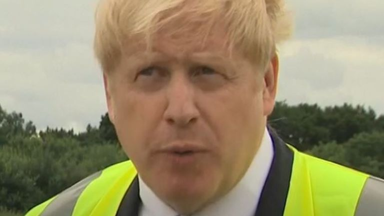 Boris Johnson says 'we need to think about our social care package'