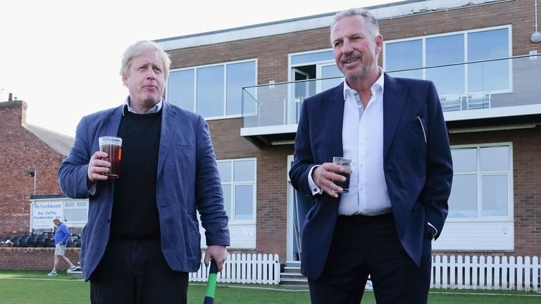 Boris Johnson will reportedly offer Sir Ian Botham a peerage
