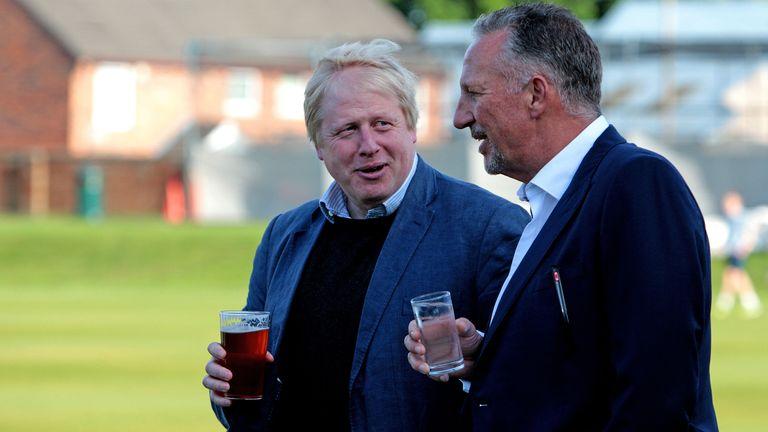 Boris Johnson -film fra 2016 med Sir Ian Botham