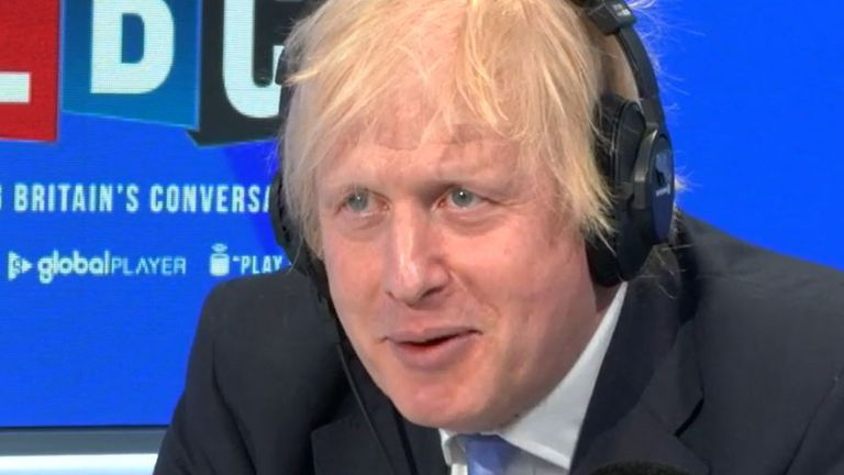 Boris Johnson will not talk about his father going to Greece