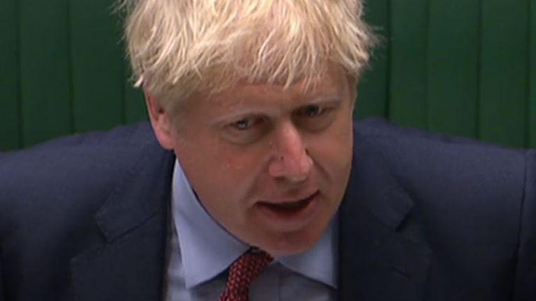 Boris Johnson says the government cannot wave a magic wand to secure all jobs in peril because of coronavirus