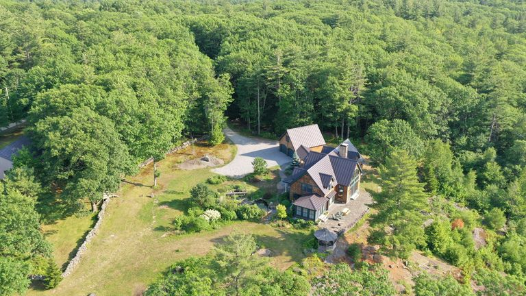 Ghislaine Maxwell was living in an isolated property in Bradford, New Hampshire, when she was arrested