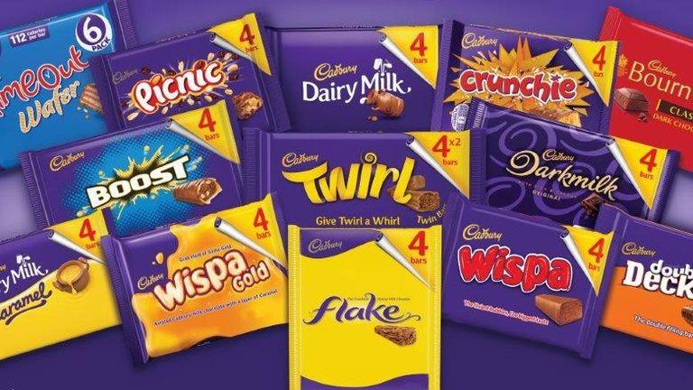 Mondolez owns Cadbury