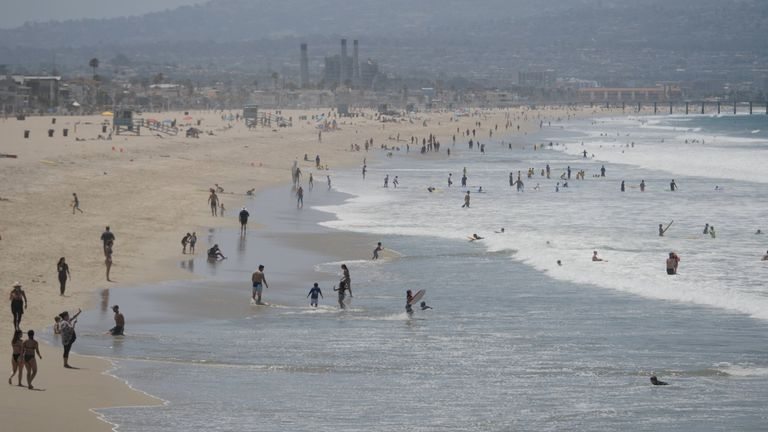 Beaches are ordered to close for the Independence Day weekend