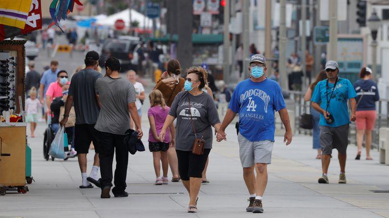 The US has passed 150,000 coronavirus-related deaths