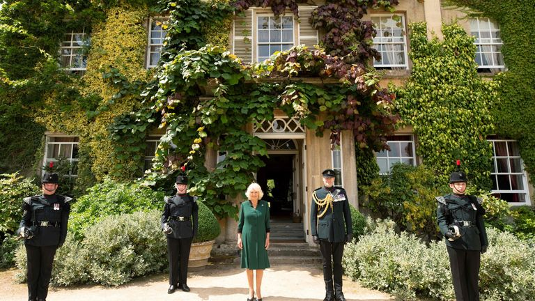 Camilla, Duchess of Cornwall becomes the colonel-in-chief of The Rifles