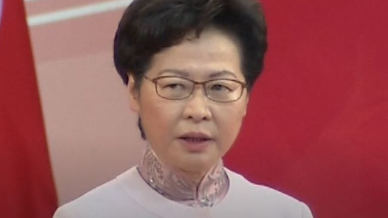Carrie lam defends enactment of 'reasonable' National Security Law