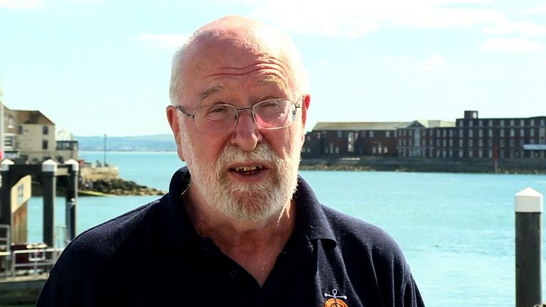 Charles Stuart works as a lay chaplain with the Stella Maris charity