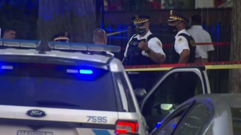A seven-year-old girl was shot in the head in Chicago over the weekend