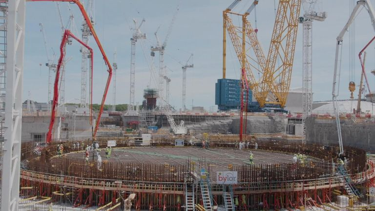 Chinese state-owned China General Nuclear UK is a minority stakeholder in Hinkley Point C power station